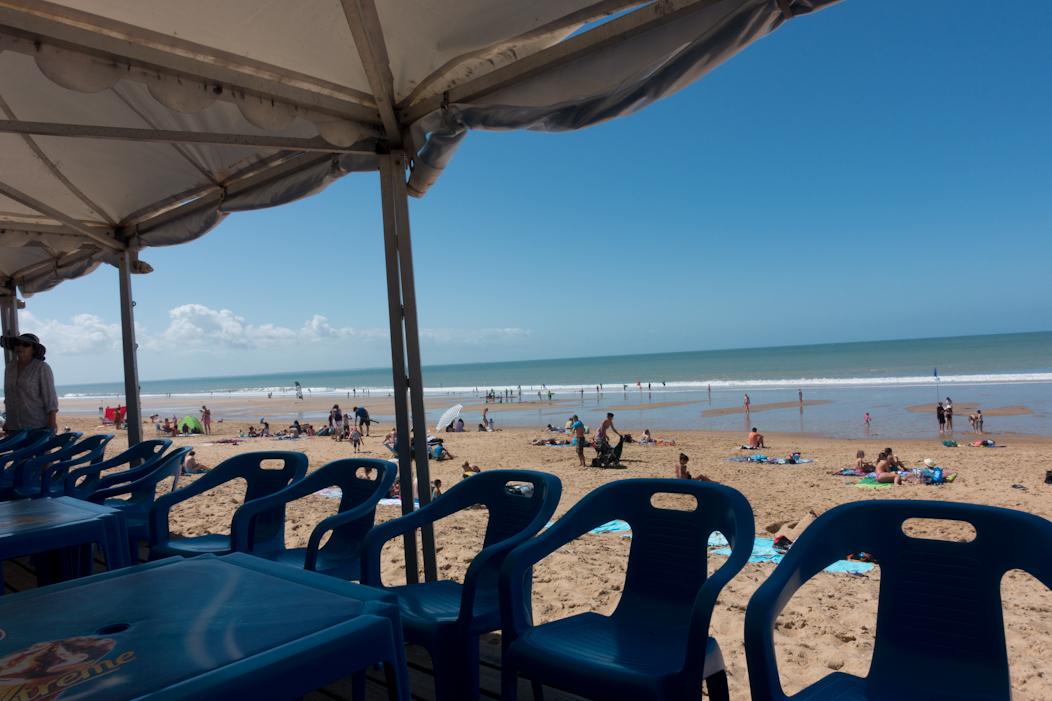 Vendee Beach on the French Atlantic Coast
