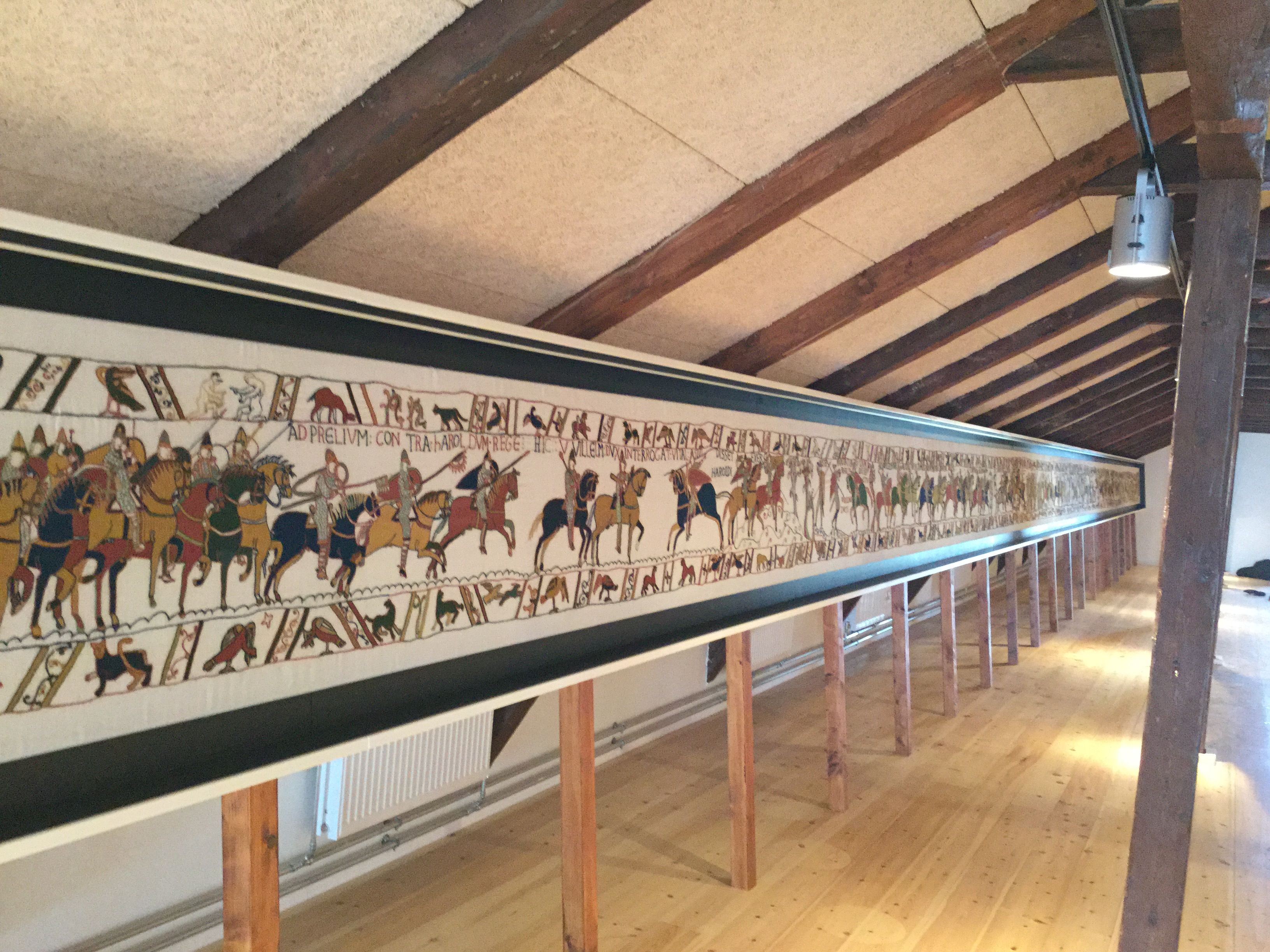 Bayeux Tapestry exhibition in Normandy