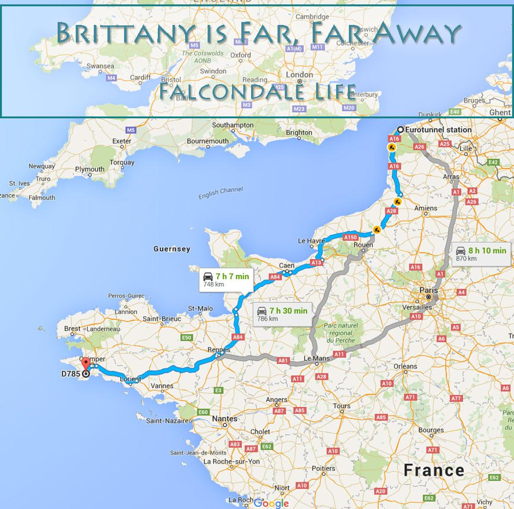Brittany is far from Calais falcondalelife