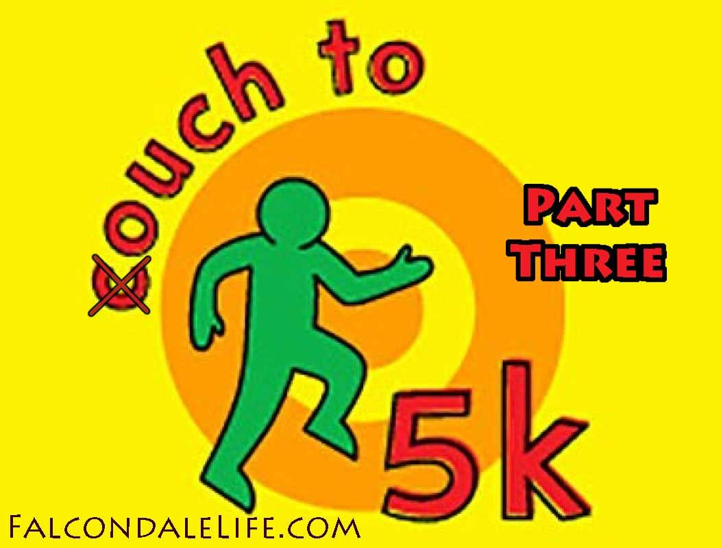 More ouch to 5km than couch to 5km part 3 FalcondaleLife blog