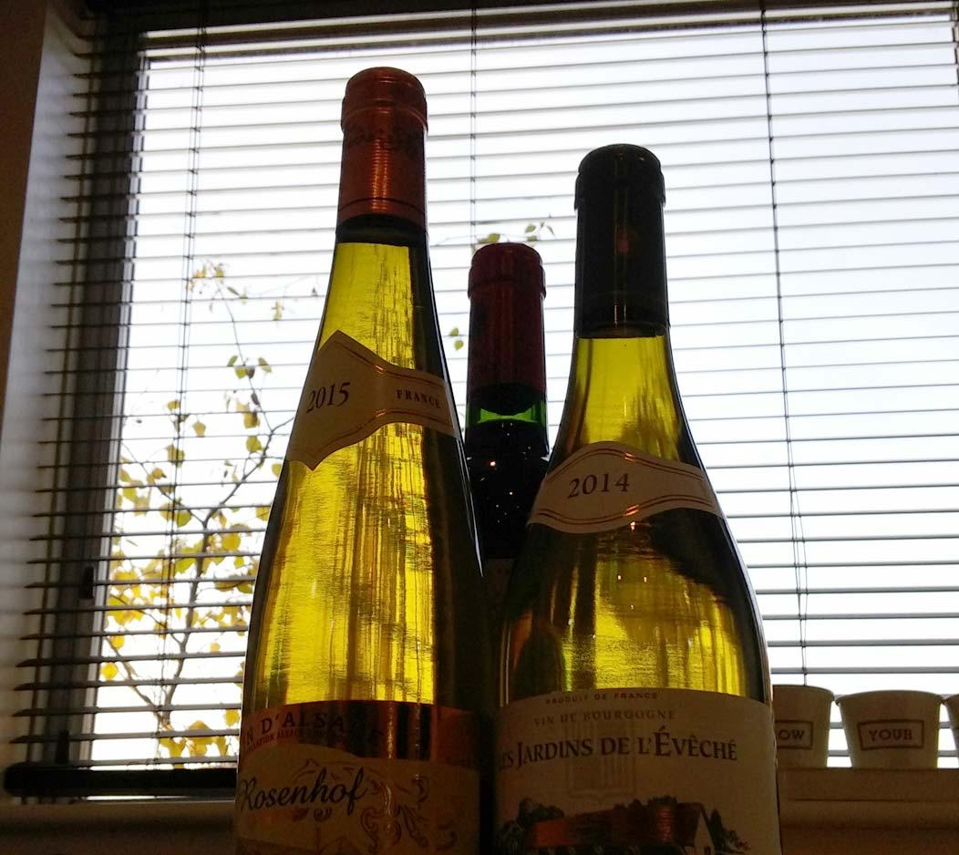 bottles of french wine on FalcondaleLife blog