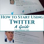 "How to Start Using Twitter, A Guide on Falcondale Life Blog. If you don't ""get"" Twitter then get some help here to start using Twitter and make it useful for you. There are some people, some events and some information which is available first hand only on this one social media platform. It's always contemporary, simple, direct."