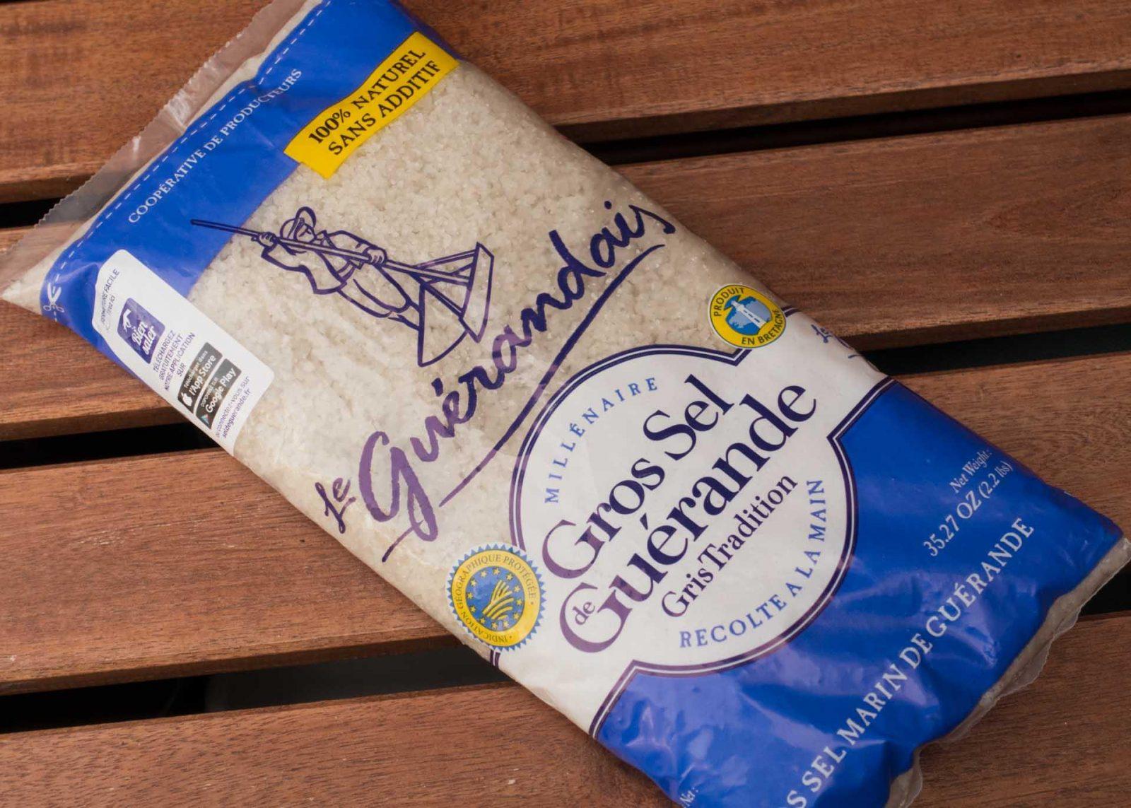 My French Shopping List du Jour on Falcondale Life blog. Sel de Guerande sea salt