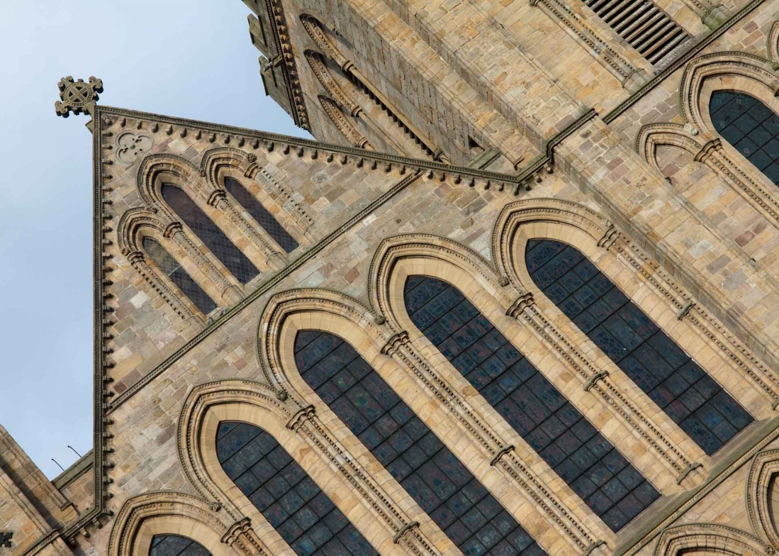 Creative Ideas for Tilting the Horizon in a Photograph on Falcondale Life Blog. Sometimes our horizons are wonky by accident but what if you deliberately tilt your image to get an interesting new effect? Ripon Cathedral.