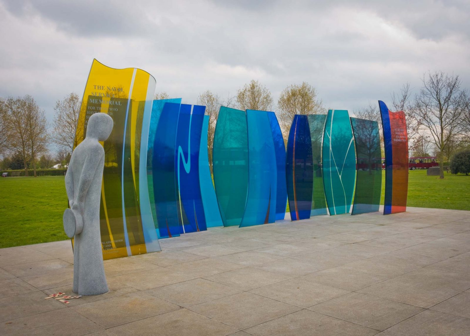 Discovering the National Memorial Arboretum with Kids on Falcondale Life blog. A day out in this sculpture park with visitor facilities including a playground and a review of the restaurant. Visitor information for families. The Navy Services Memorial.