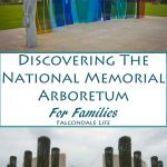 Discovering the National Memorial Arboretum with Kids on Falcondale Life blog. A day out in this sculpture park with visitor facilities including a playground and a review of the restaurant. Visitor information for families. Title banner.