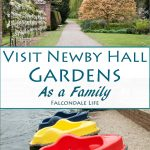 Visit Newby Hall and gardens near Ripon with a tween and teenager on Falcondale Life blog. Unusual plants, Bear collection, dollshouse exhibits. Ride the miniature railway or pedalos.