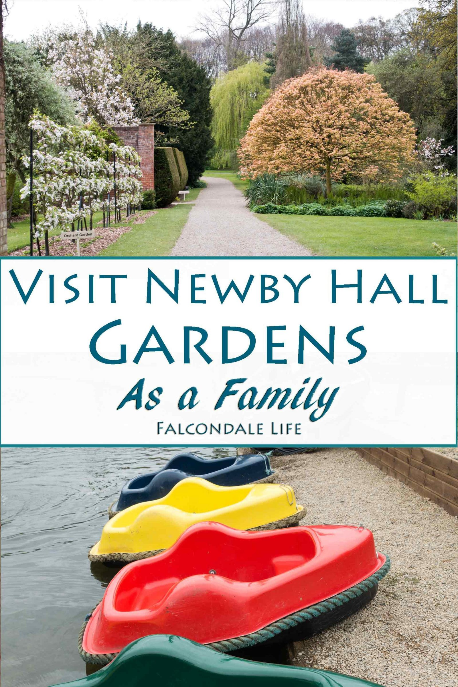 Visit Newby Hall Gardens as a Family