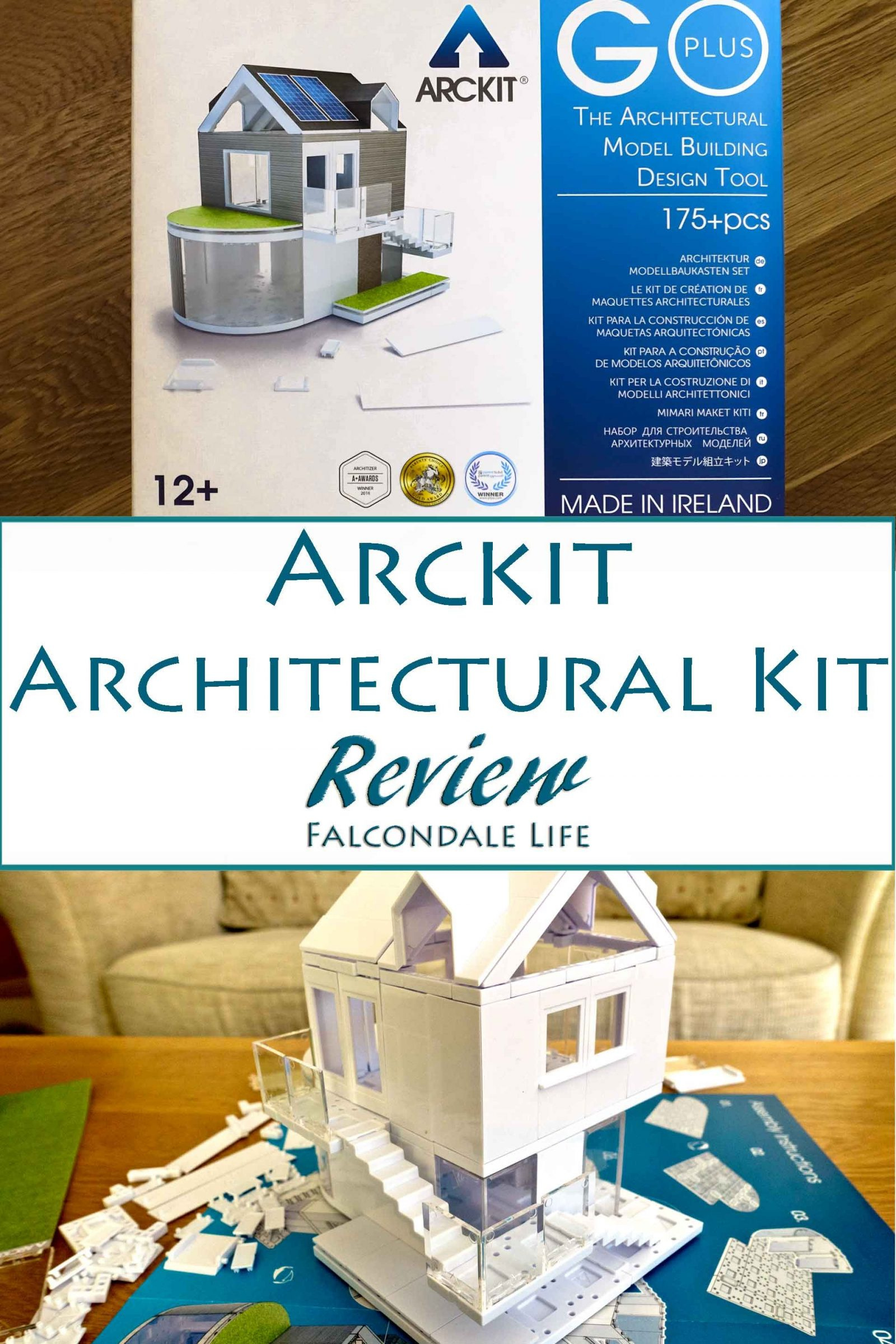 arckit architectural model building kit review and kickstarter