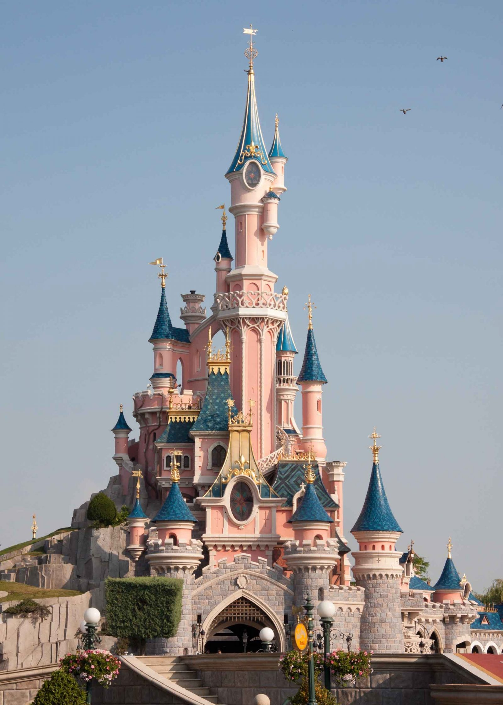 Comparing Three French Theme Parks - a review on Falcondale Life blog. Disneyland Paris, Parc Asterix and Puy du Fou comparison. What rides or attractions are there and how to plan a visit. Sleeping Beauty's Castle.