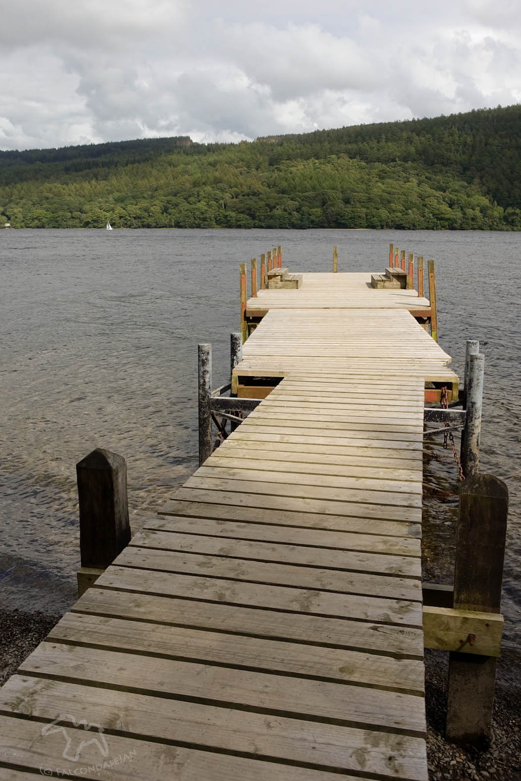 How not to cope with rain on holiday on Falcondale Life blog. Why does it always rain on me in the Lake district? But there are ways to let it ruin a holiday. Learn from my mistakes. Jetty with views of Coniston water.