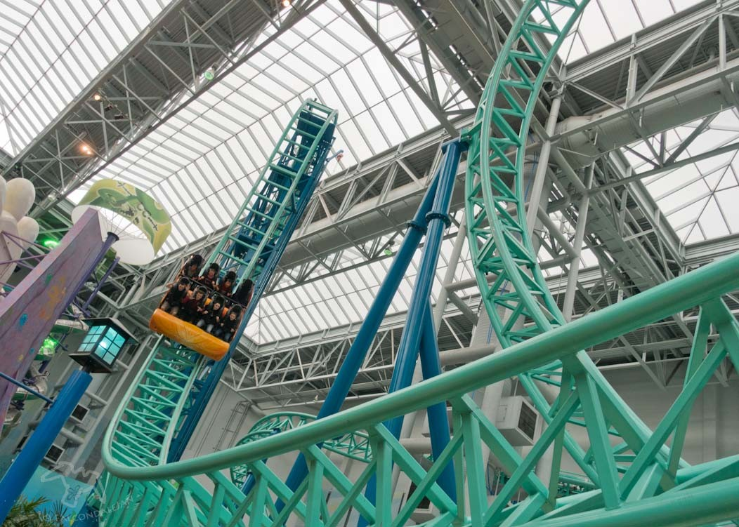 Mall of America, Minneapolis: Destination Thrill on FalcondaleLife blog. The biggest shopping mall in America also has a theme park and many other thrilling attractions to make it a tourist destination in its own right. Nickelodeon Universe theme park.