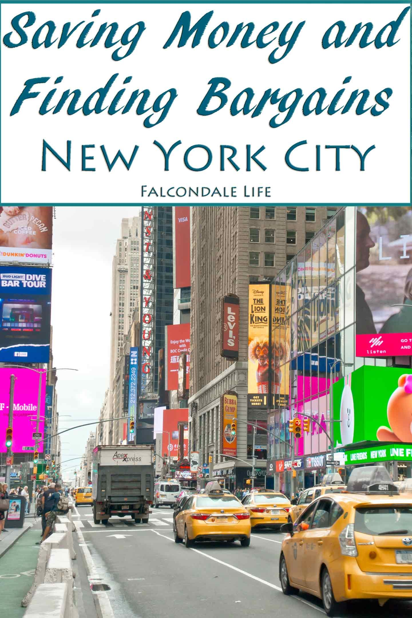 Saving money and finding bargains on a trip to New York City on Falcondale Life blog. We had a great time visiting New York City, stayng in a hotel and seeing the sights. Going to the USA on holiday is quite an expensive trip so we were looking for ways to save money and came up with these tips for family travelers.