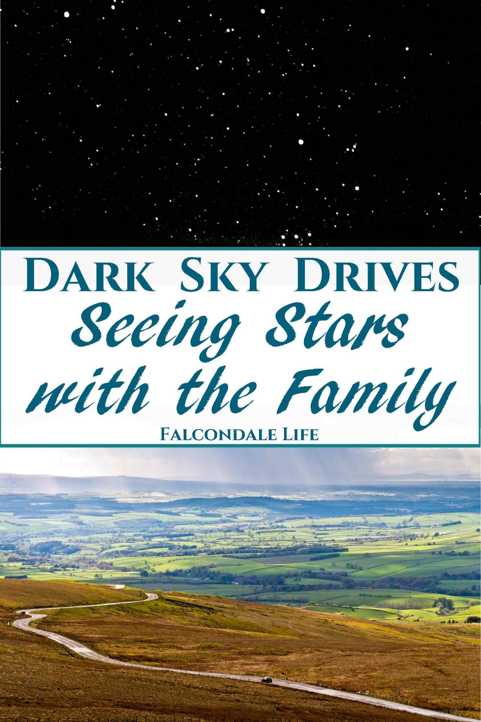 Dark Sky Drives - Seeing Stars with the Family on Falcondale Life blog. With older children a night time adventure to see the stars in a dark sky park is a great idea for a roadtrip. How to plan and what to expect in some of the best dark sky viewing areas. North Pennines AONB, Forest of Galloway and ambitions to visit the dark sky park of county Kerry.