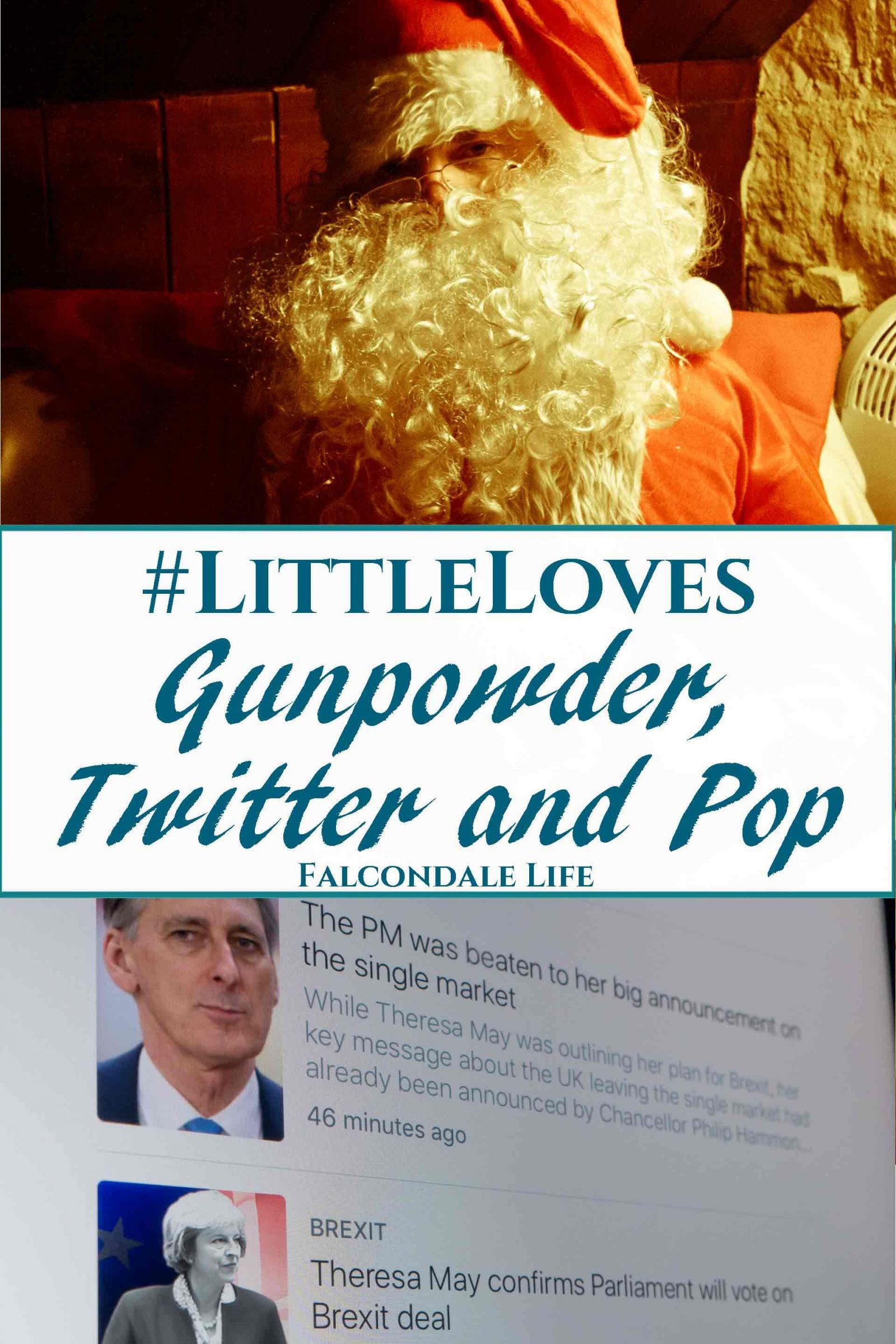 Gunpowder, Twitter and Pop - #LittleLoves linkup on Falcondale Life blog. Personal blog from my week by FalcondaleJan. TV shows, news and family life.