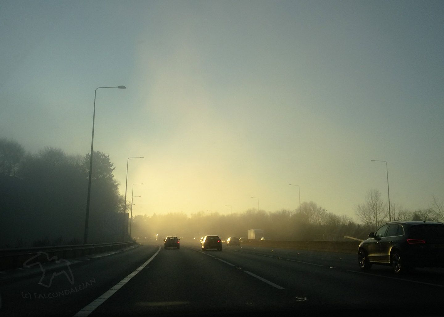 Winter Road Safety for Tween and Teenage Children on Falcondale Life blog. What advice do I give my tween and teenage children about winter road safety? Useful tips for them as pedestrians, cyclists and car passengers. Winter motorway driving, mist and glare.