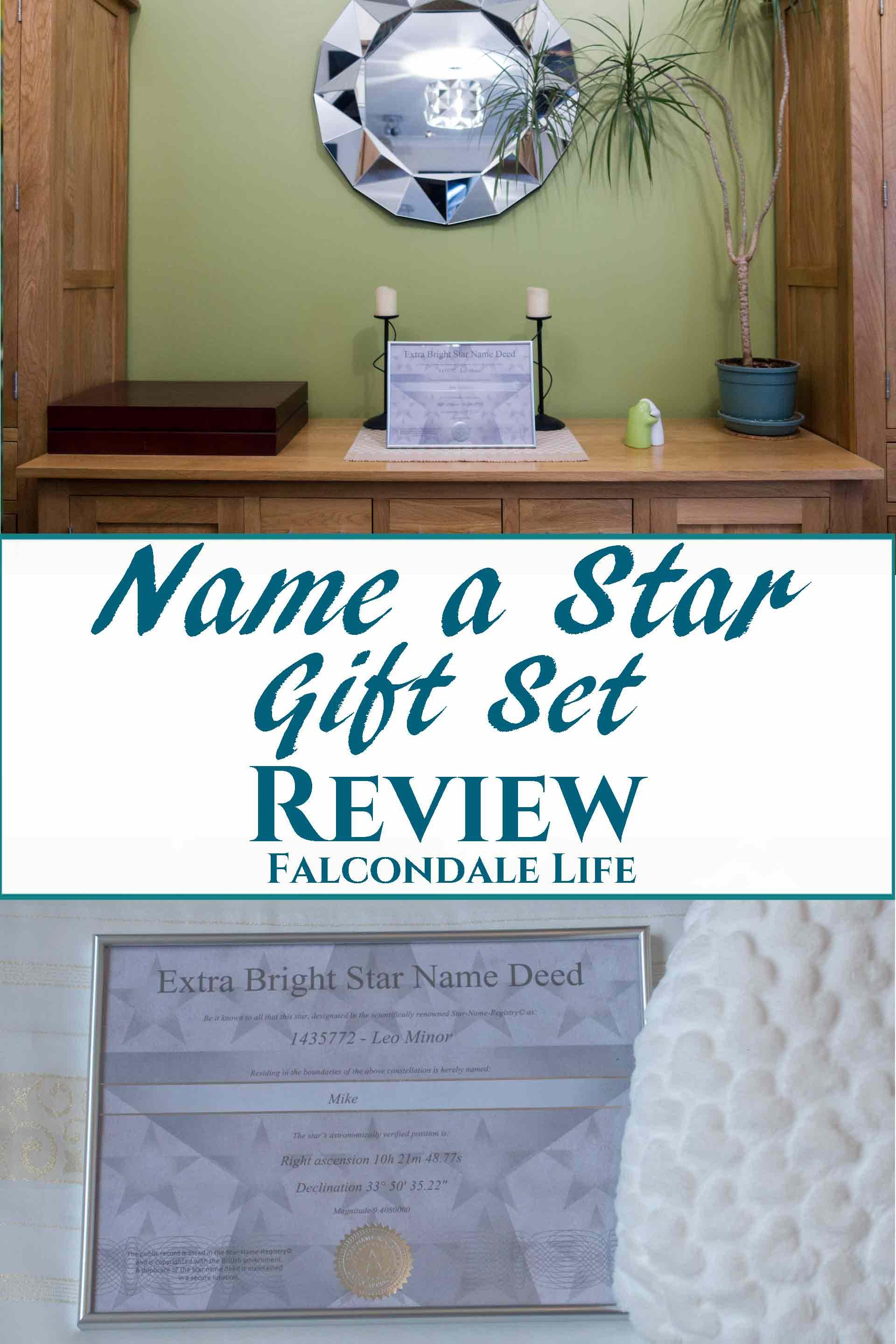 Name a Star Gift Set Review