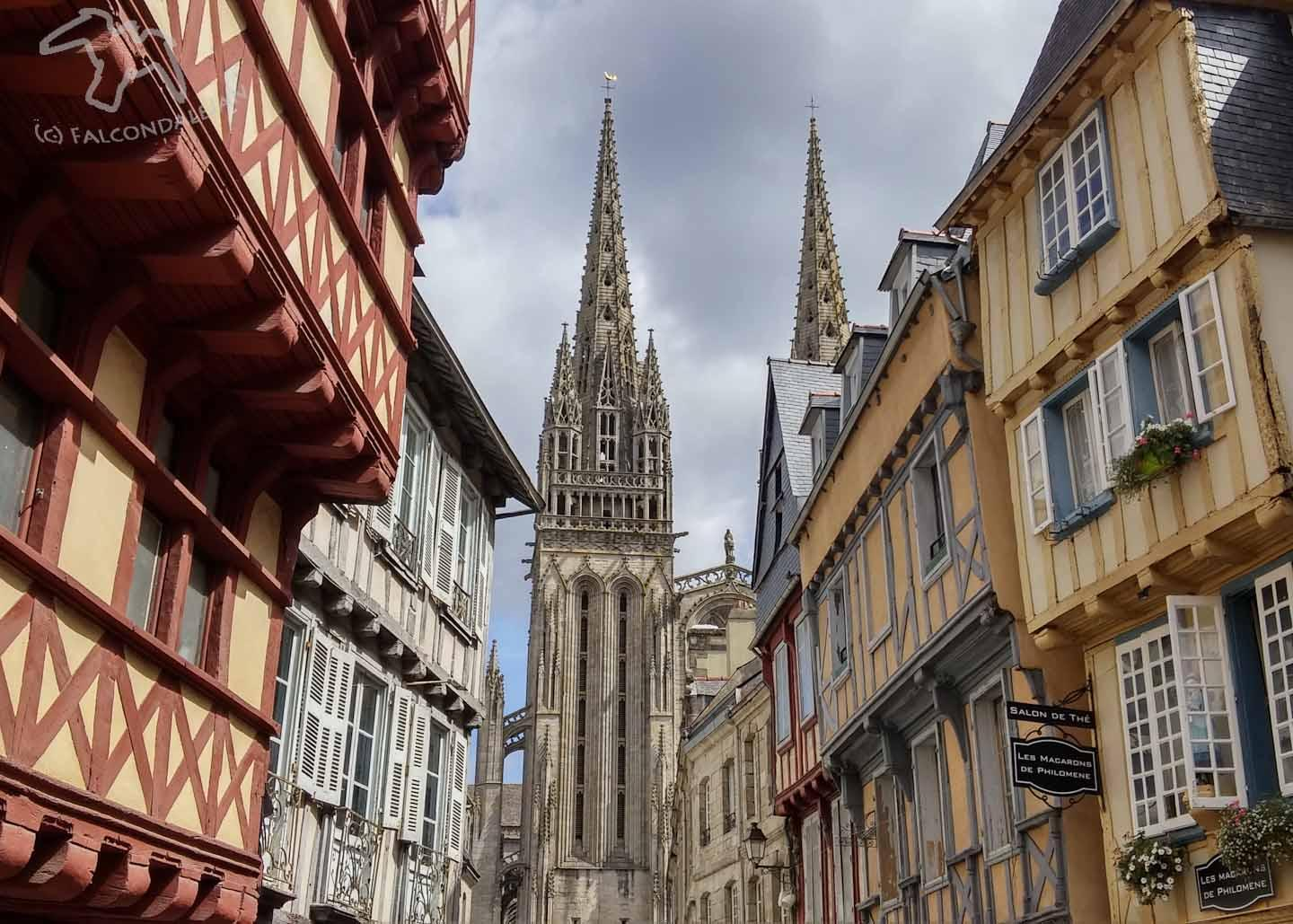 Take a Walk with the Family Through Quimper Brittany Falcondale Life
