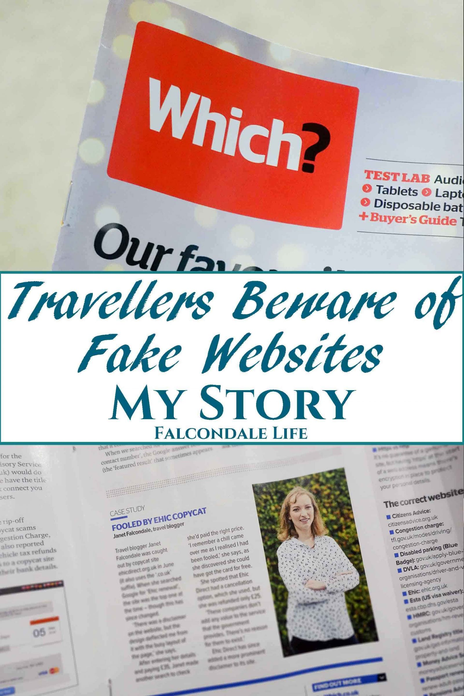 Travellers Beware of Fake EHIC Card Websites – My Story
