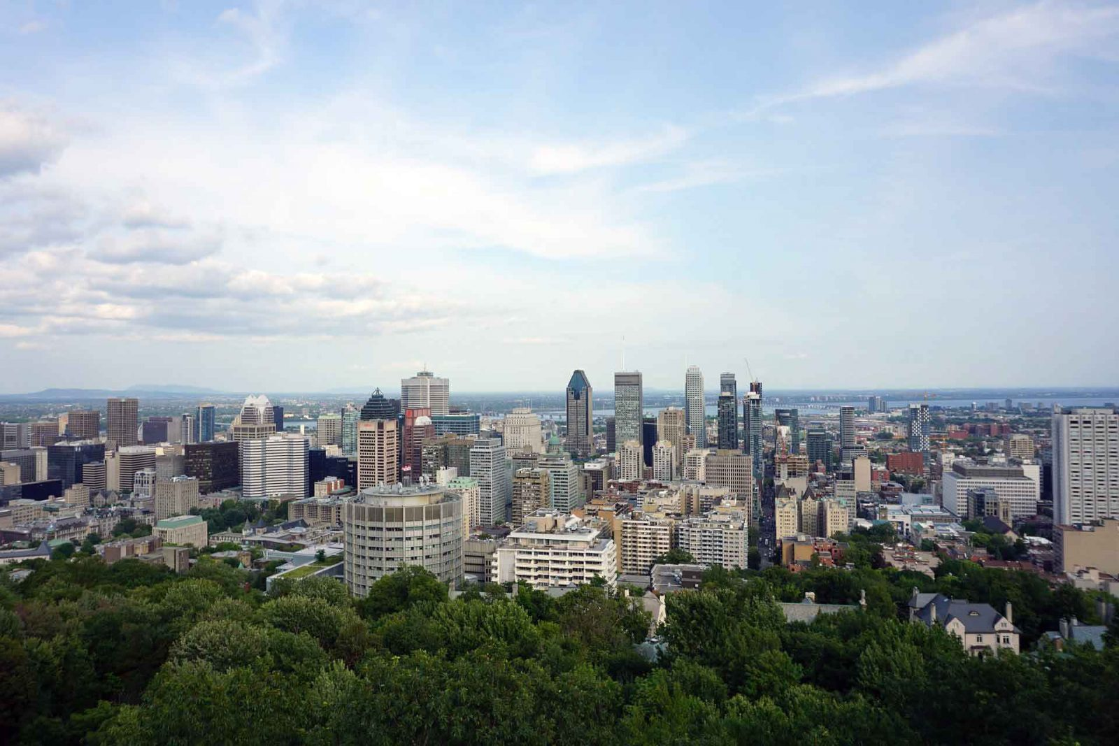 Eight must see sights for kids in Montreal on Falcondale Life blog. Guest post by Samara from TinyFry. View of Mont Royal, Montreal courtesy of Pixabay on Creative Commons licence. There's lots for kids of all ages in Montreal, it's a great family travel destination in Canada.