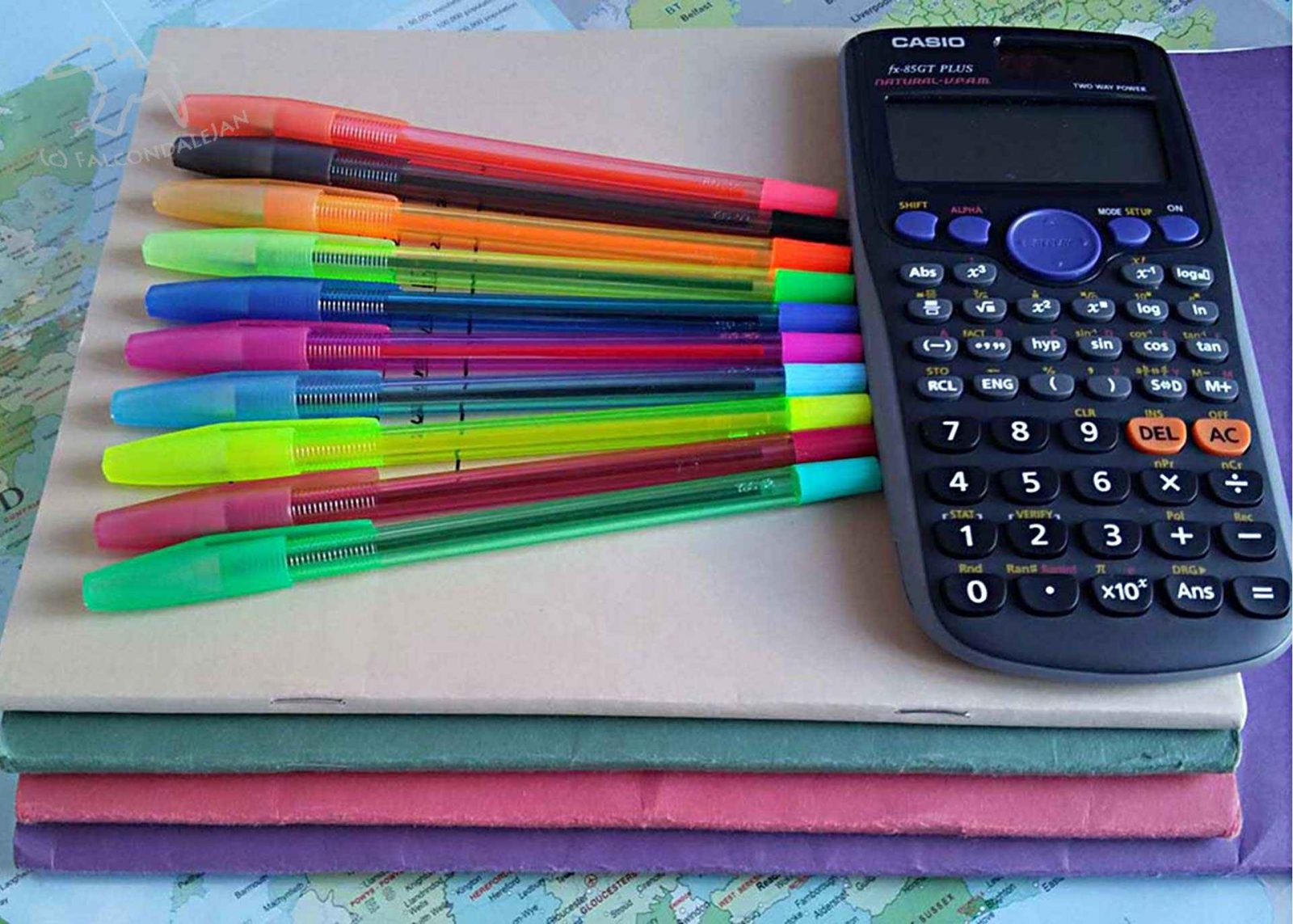School supplies including pens, calculator, exercise books, atlas. Teens Taking GCSEs - What happens at the end of year 11? on Falcondale Life blog. Year 11 of secondary school ends with GCSE exams, lots of hard work and revision. Parents and teens want to know, will there be study leave, when do we find out the dates of the exams and when does school actually end? What is there to do after the end of year 11 in the long summer break? Tips from parent bloggers.