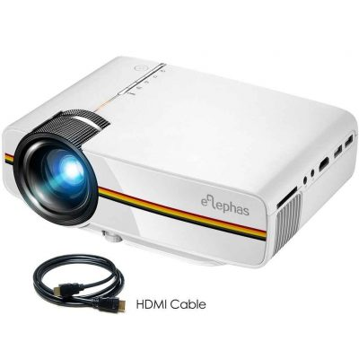 Elephas Mini Home Cinema Projector