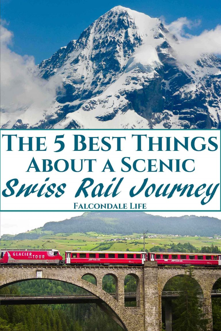 The Five Best Things About A Scenic Swiss Rail Journey