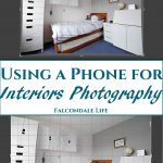 Using a Phone for Interiors Photography on Falcondale Life blog. The story behind these interiors photos taken using a phone. Why the LG G6 is great for interiors shots and what conditions are needed to get good results. The difference between a phone and DSLR for interiors photography. Image description: Interiors photo with Lightroom edit overlays and blog title
