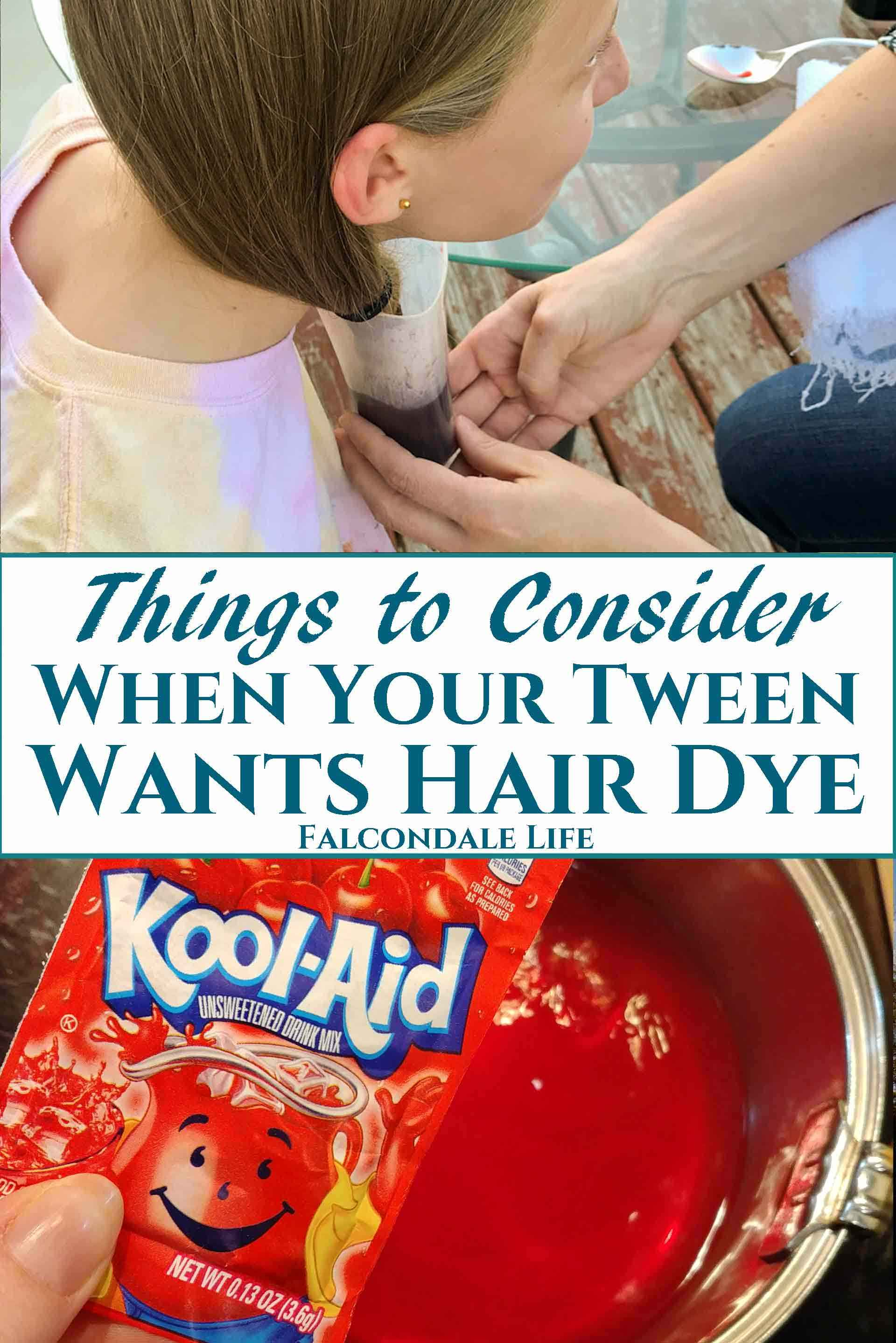 Things to Consider When Your Teen or Tween Wants Hair Dye ...
