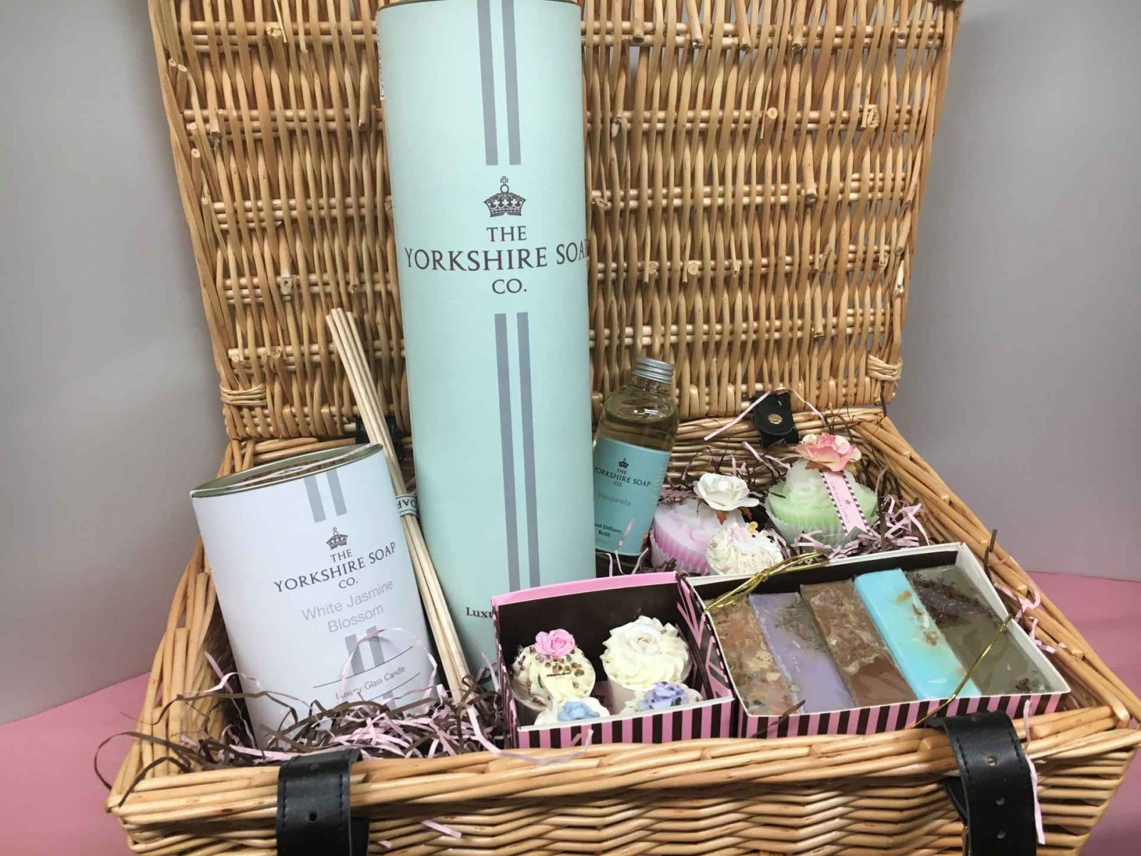 Visit Yorkshire soap online or in store for beautiful soaps and body care with fragrances skillfully blended and products for all the family. Review, photos. Visit Yorkshire Soap on Falcondale Life blog. Image description: Prize £100 hamper