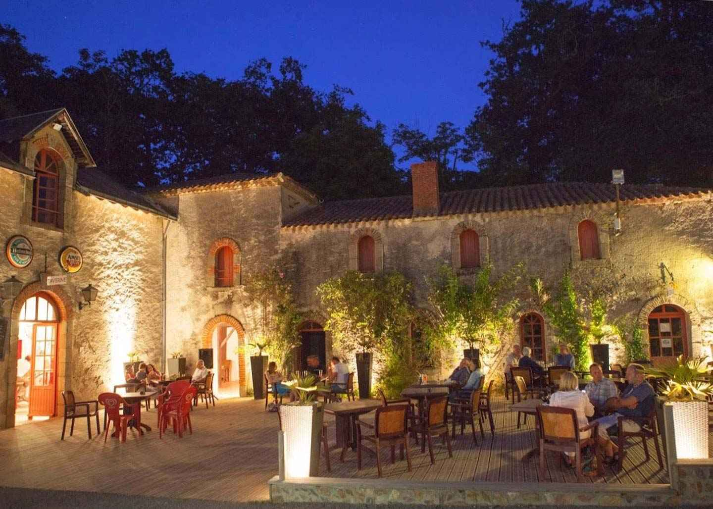 Interviews with the people behind three family travel destinations. Insights of how each family travel destination is run and their commitment to customers. Family Travel Destinations, our top picks interviewed on Falcondale Life blog. Image description: The courtyard at Chateau la Foret