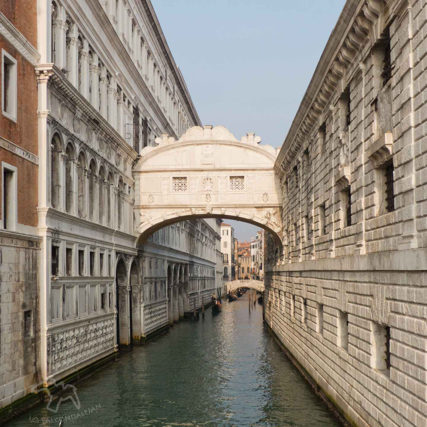 Can parents find romance in Venice with kids in tow or is it best to go without the children? Tips for Mums and Dads visiting the world's most romantic city. Plan a romantic trip to Venice with kids in tow on Falcondale Life blog. Image description: Venice bridge of sighs
